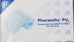 Curativo Filme Transparente em rolo  10 cm x 10 metros  Pharmaplast Fix PU